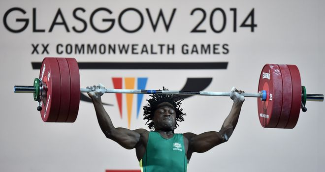 Francois Etoundi: Ordered to pay compensation to Welsh weightlifter Gareth Evans