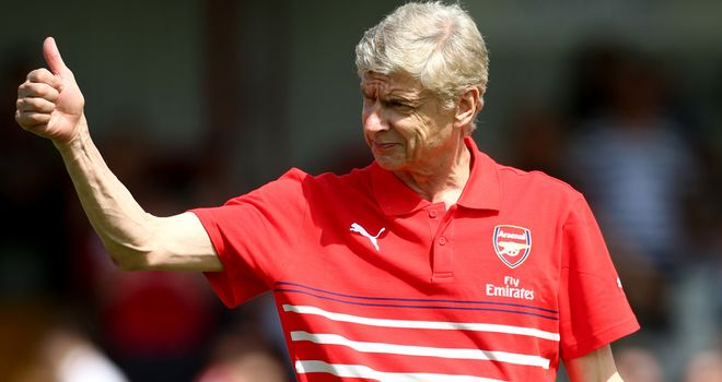Arsene Wenger: Contracted to Arsenal until 2017