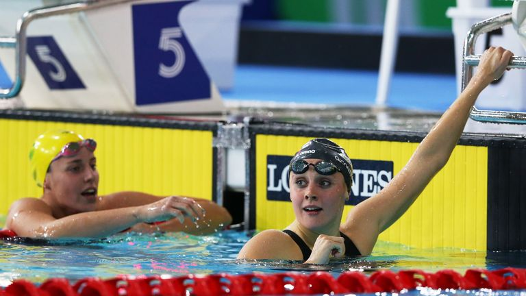 Siobhan-Marie O'Connor: Set a new British record to win the 200IM gold medal