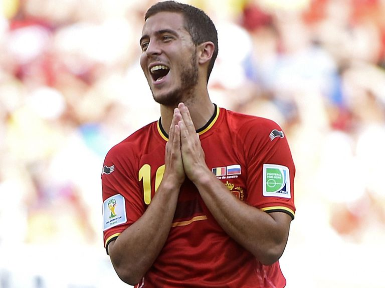 Eden Hazard: Prepares for World Cup quarter-final against Argentina