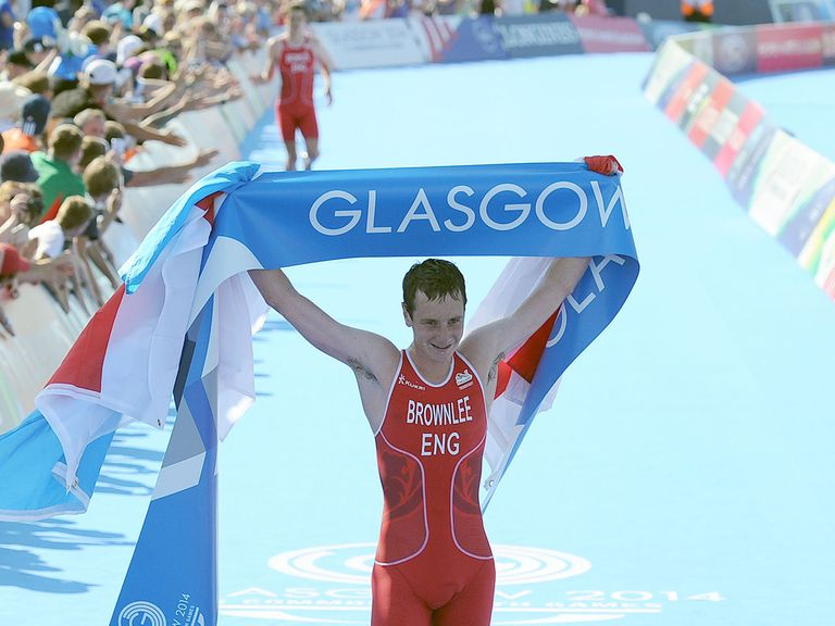 Alistair Brownlee overcame his brother to take gold