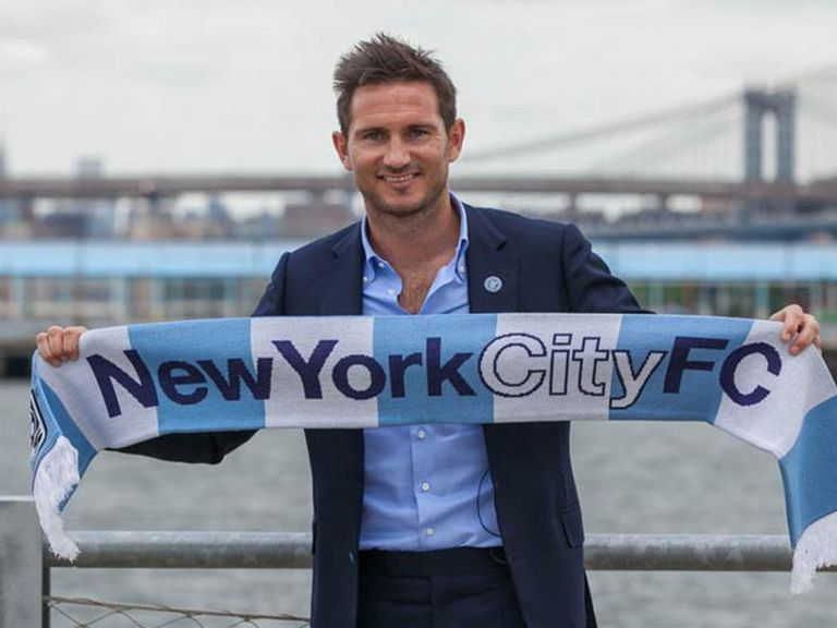 Frank Lampard: New York City midfielder heading to Manchester City in loan move