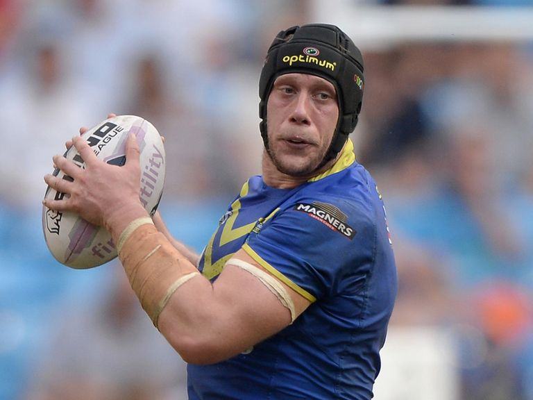 Chris Hill: Has agreed to stay at Warrington until 2019
