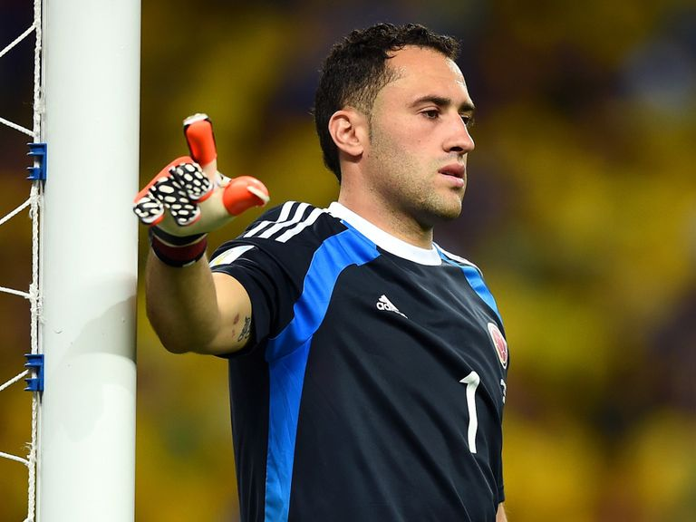 David Ospina: Impressed at the recent World Cup