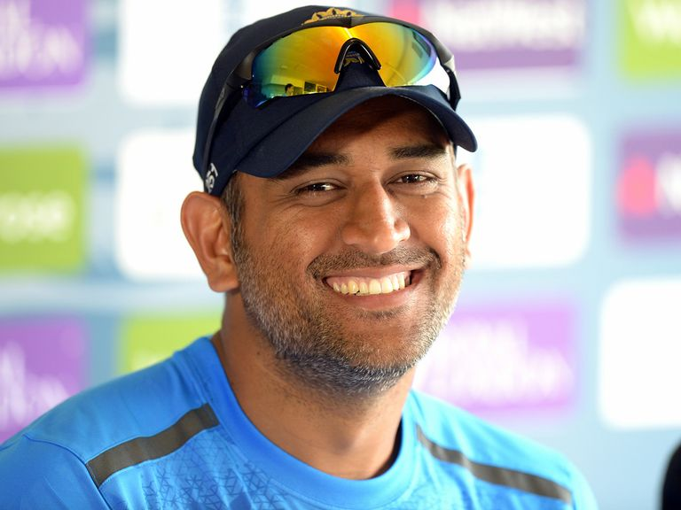 Dhoni: India skipper