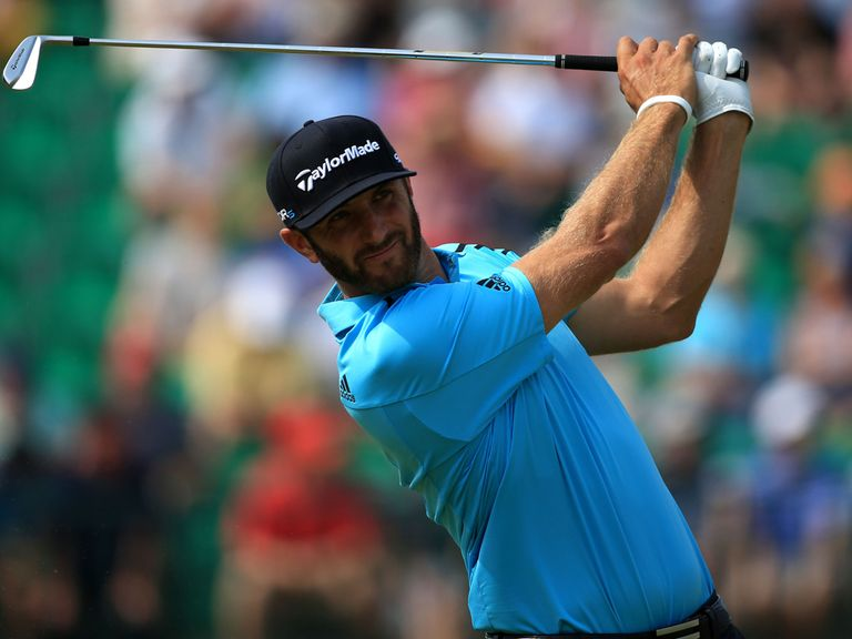 Dustin Johnson: Shot 65 on Friday to move into second