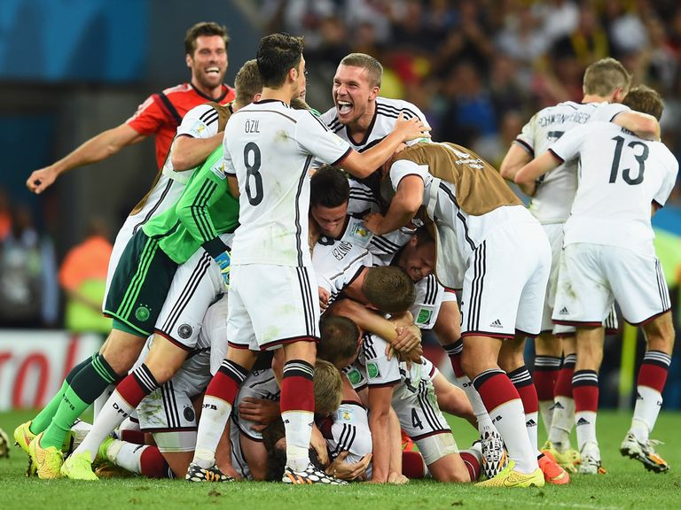 Germany: 5/1 with Sky Bet to win the World Cup again in 2018