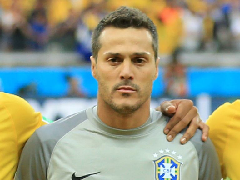 Julio Cesar: Made 27 appearances for QPR after joining from Inter Milan