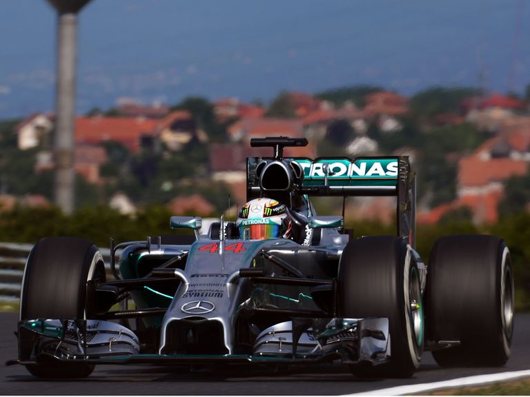 Lewis Hamilton: Went quickest in practice one