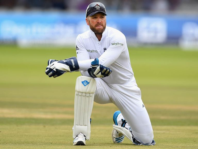 Matt Prior: Stepping down due to injury