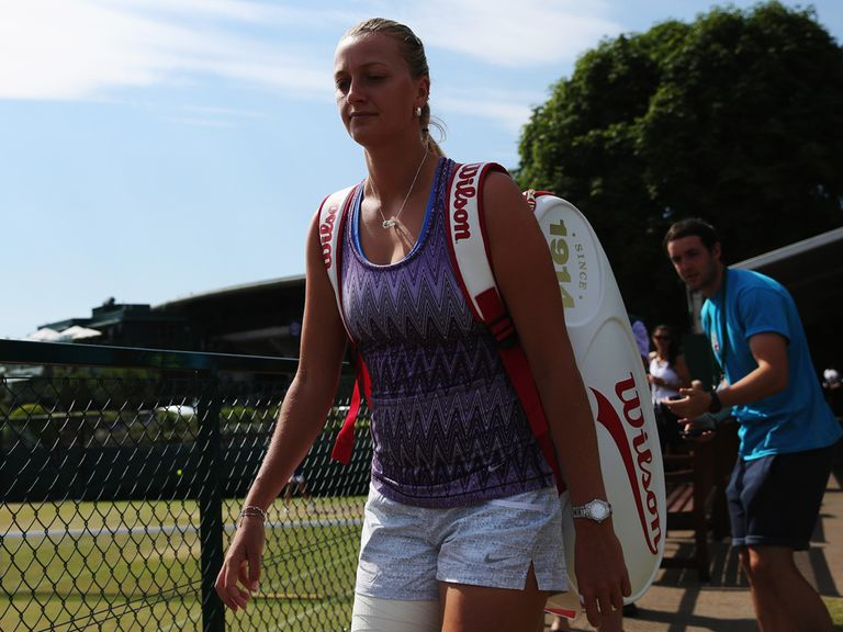 Kvitova: Could encounter service problems