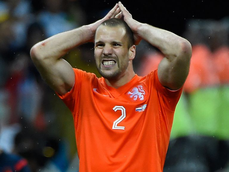 Ron Vlaar: Costly miss in the penalty shoot-out