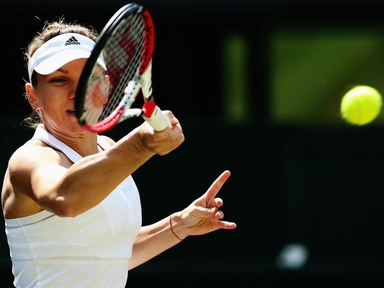 Simona Halep: Preparing to face Eugenie Bouchard
