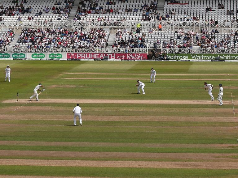 The Trent Bridge pitch has been criticised