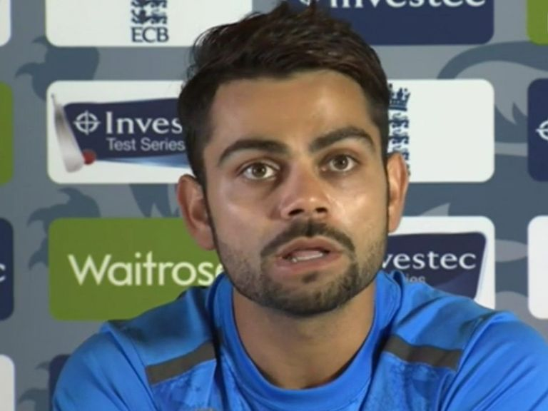 Virat Kohli: Stressed the need to keep Cook in a slump