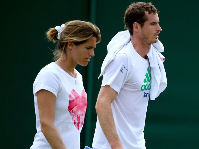 Andy Murray: Looking to work more with coach Amelie Mauresmo