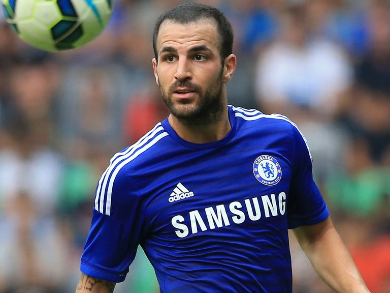 Cesc Fabregas: Signed for Chelsea in the summer