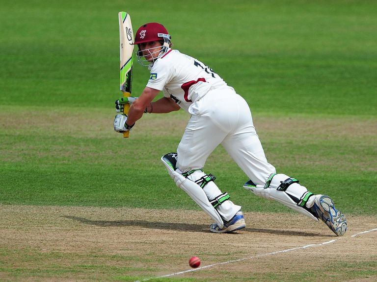 Chris Jones: Top-scored for Somerset