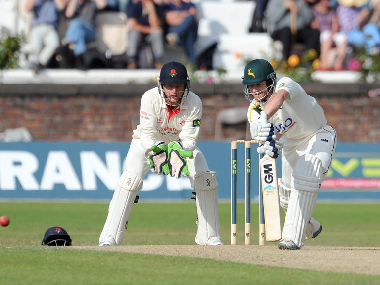 Chris Read saw Notts to a tense victory
