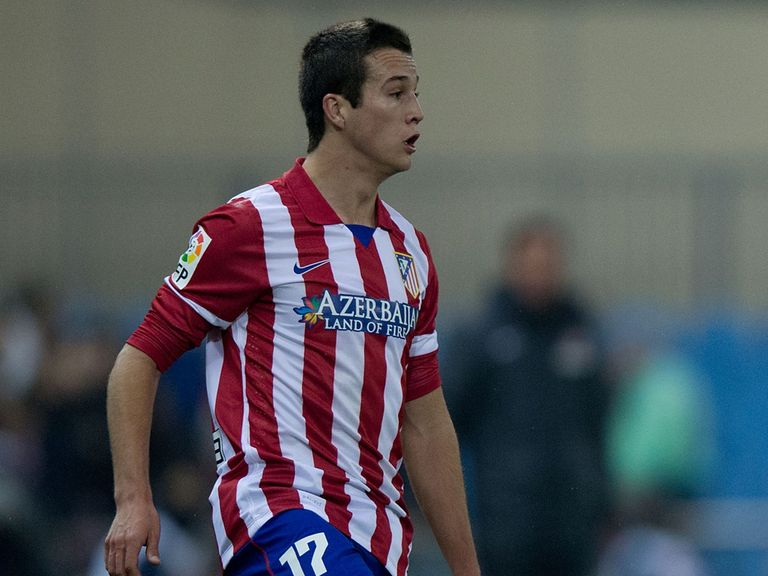 Javier Manquillo: Set to undergo a medical at Liverpool on Monday.