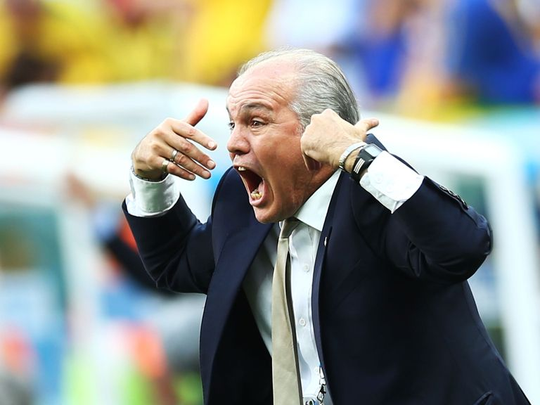 Alejandro Sabella: Looking to lead Argentina to the World Cup final