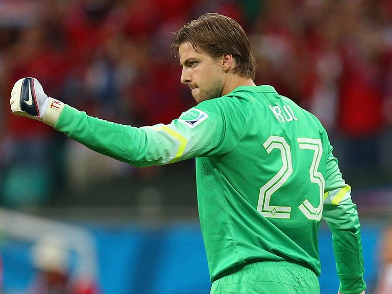 Tim Krul: Insists he did nothing wrong