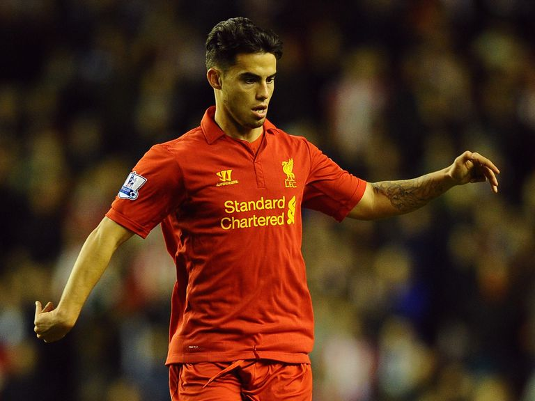 Suso: Has his sights of a first team spot at Liverpool