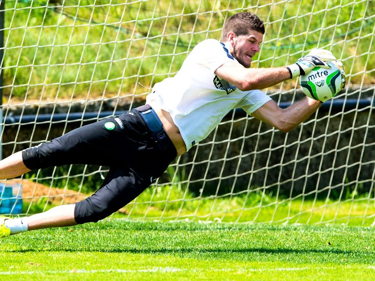 Fraser Forster: Linked with a move away from Celtic