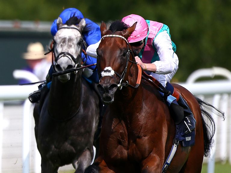 Kingman could go up in trip if he stays in training