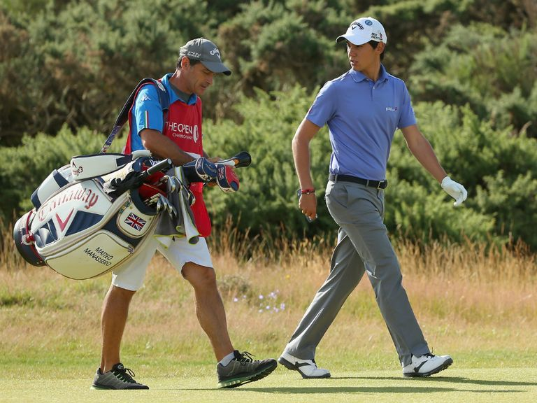 Matteo Manassero made large strides with a round of 67