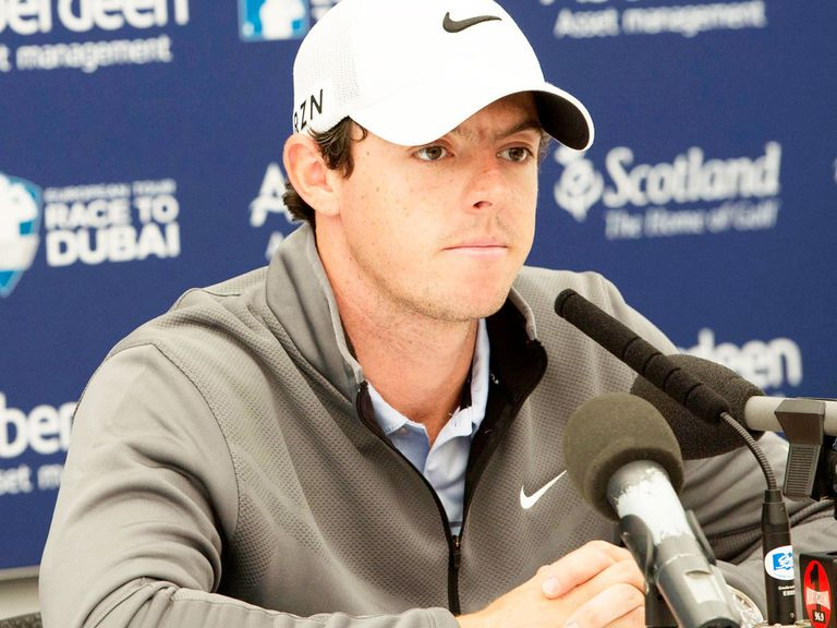 Rory McIlroy: Irishman decided he would play at the Scottish Open a year ago