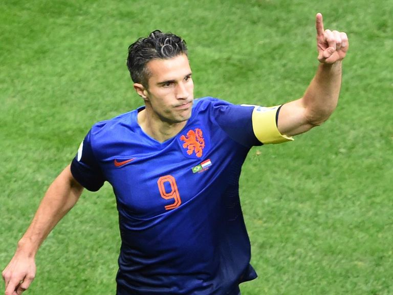 Robin van Persie: Was Van Gaal's main man at the World Cup