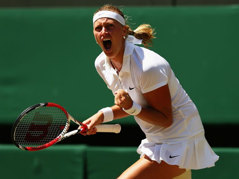 Kvitova: Easy to find fault
