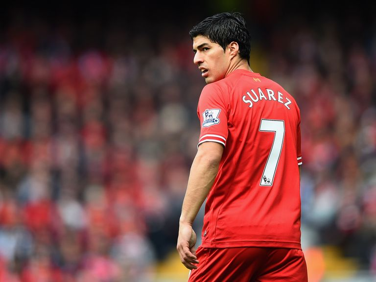 Luis Suarez: On the verge of leaving Liverpool