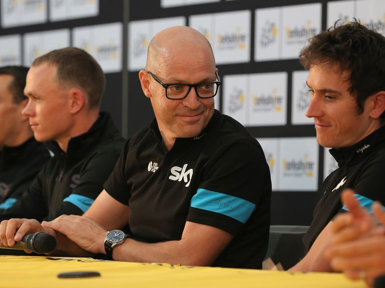 Sir Dave Brailsford: Reflects on the decision to leave out Wiggins