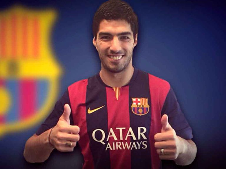 Luis Suarez: Has joined Barcelona from Liverpool
