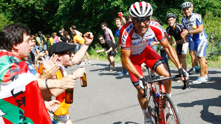 Joaquim Rodriguez is looking to win his first Grand Tour, aged 35