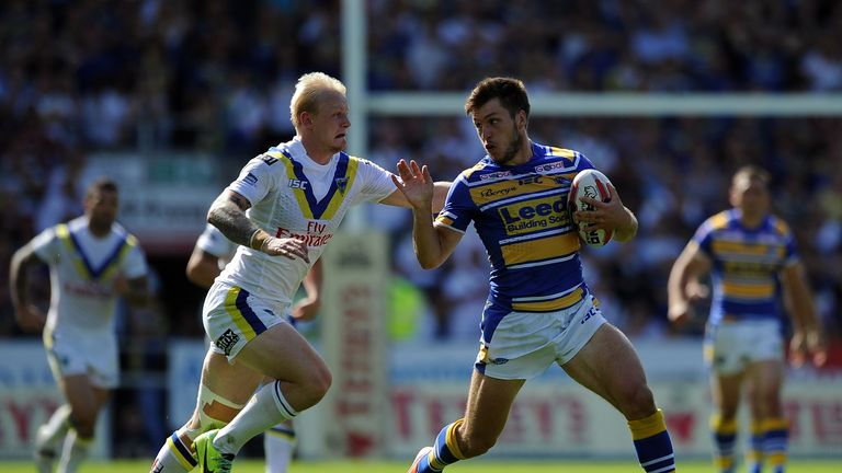 Tom Briscoe: Scored a try in Leeds' semi-final victory over Warrington Wolves