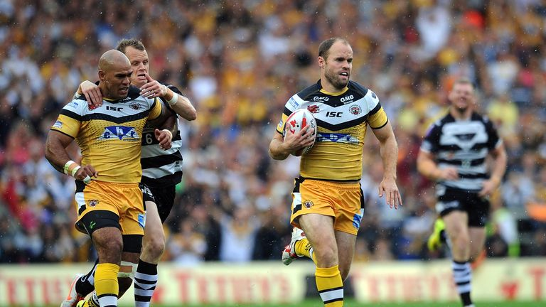 Liam Finn: Castleford playmaker expected to start against Leeds at Wembley