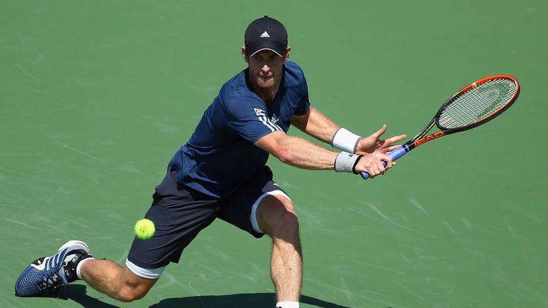 Andy Murray: Faces John Isner on Thursday