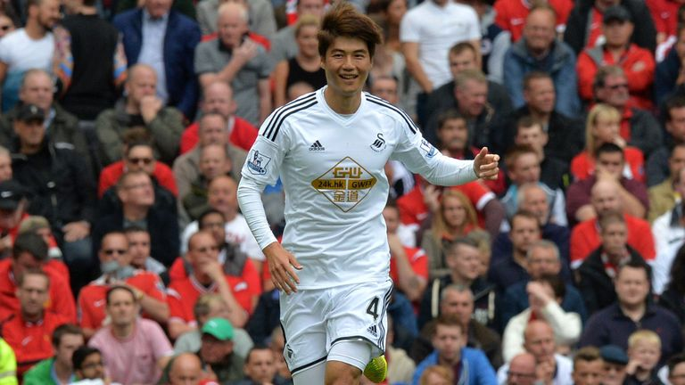 Ki Sung-yueng: The South Korean midfielder is loving life at Swansea under Garry Monk.
