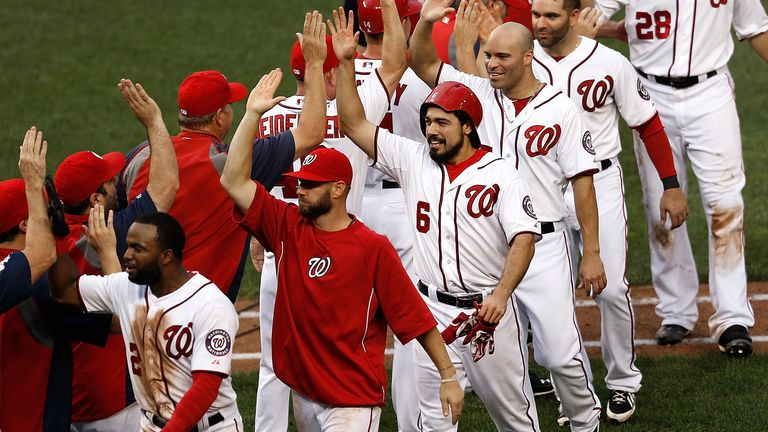 Washington Nationals have won 10 straight after Thursday's win over Arizona