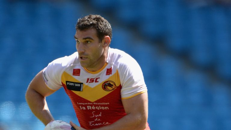 Thomas Bosc: Will be with the Catalan Dragons for the 2015 Super League season