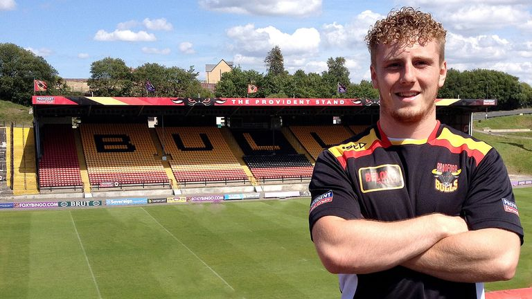 Adam O'Brien: Has agreed a new two-year contract with Bradford Bulls