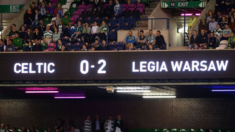 Legia Warsaw to learn Champions League fate on Monday