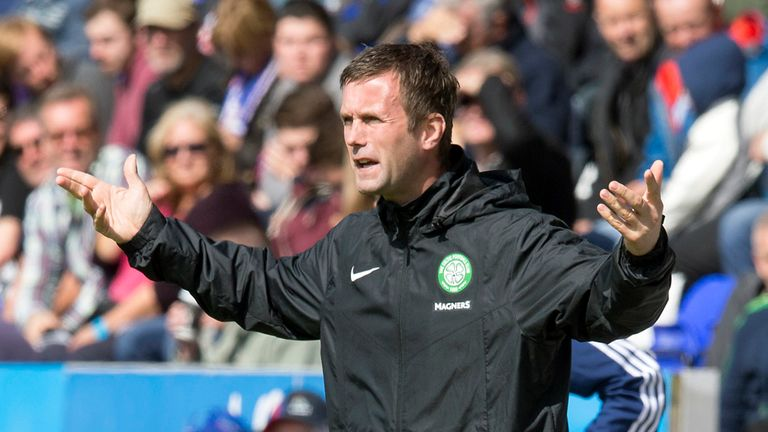 Ronny Deila: Encourages Hoops from the touchline