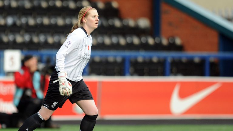 Libby Stout: Wants Liverpool to fight to retain their title