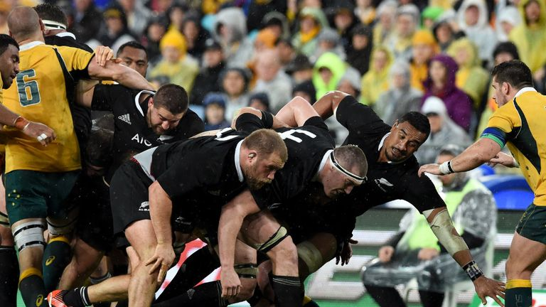 New Zealand were frustrated by Australia in their record attempt