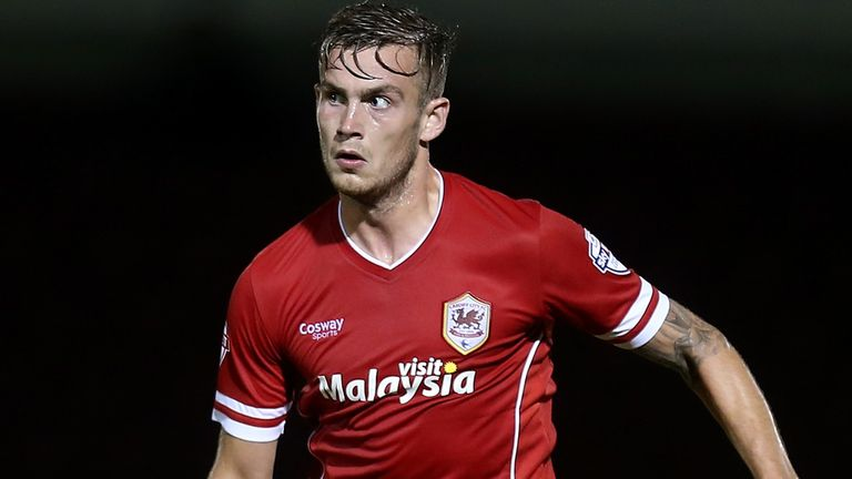 Joe Ralls: Scored for Cardiff at Port Vale