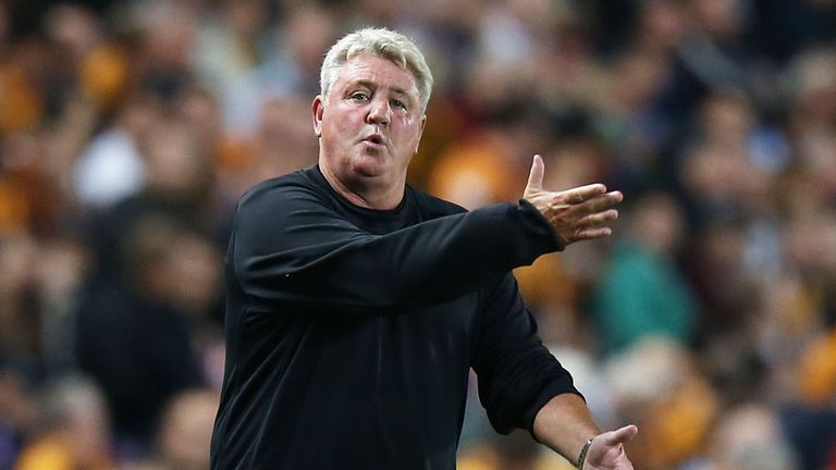 Steve Bruce: Remains happy at Hull City
